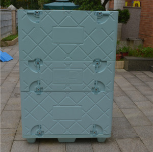 easy to assemble the plastic coolbox Insulated Food Case Insulated Carriers