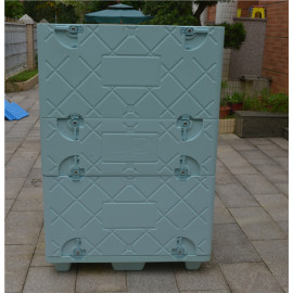 Large insulated box for refrigerated shipment customized different sizes coolbox