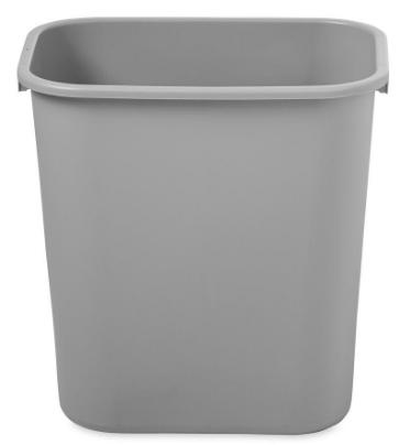 Grand bac à ordures en plastique extérieur / moule à poubelle / moule de seau