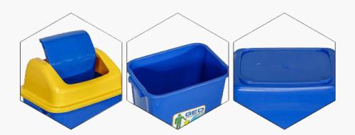 Molde plástico del compartimiento de basura de la diversa talla del tamaño con el mejor precio