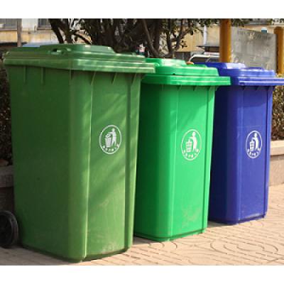 Personalizado amplamente molde exterior do escaninho de lixo da injeção plástica da fonte da fábrica grande