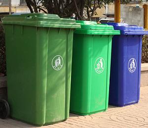 Molde de basura grande al aire libre modificado para requisitos particulares del compartimiento de basura de la inyección de la fábrica extensamente
