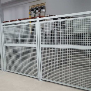 FRP GRP Fiberglass Insulation vinyl fence panels with Gratings