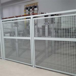 FRP GRP Fiberglass Insulation vinyl fence panels with Gratings