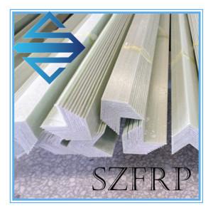 High durability fiberglass frp angle plastic profile