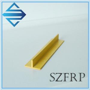 FRP GRP Fiberglass T Bar Beam Profile
