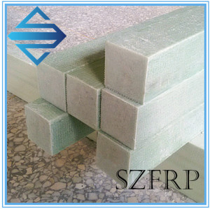 Fiberglass rectangular rods