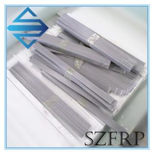Flat FRP fiberglass pultruded strips
