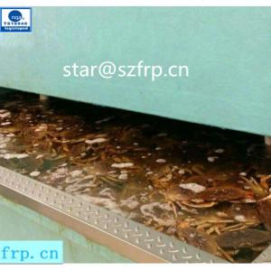 frp fiberglass fish tank/fish farming tank
