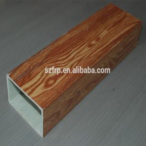 frp grp fiberglass square pipe