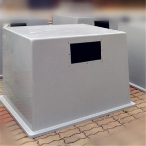Fiberglass Outdoor enclosure for solar battery