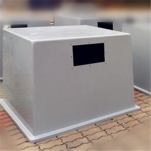 Fiberglass Outdoor enclosure for solar battery