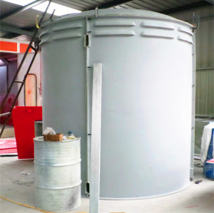 Grp hand lay up process Fiberglass Cabin