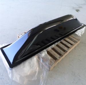 Fiberglass wind deflector
