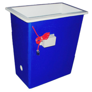 FRP GRP Fiberglass chemical Cleaning Box ( Double Deck )