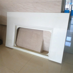 FRP Train window frame