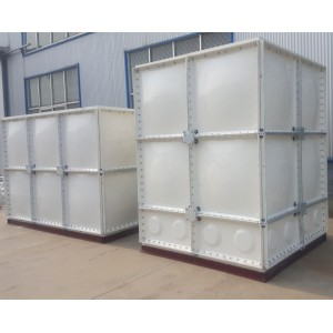 Grp sectional water tank