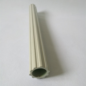 Custom frp grp gear tube, tooth shape tube