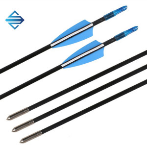 Fiberglass Arrow with Replaceable Arrowhead Spine 500 for Recurve and Coumpond Bows Archery