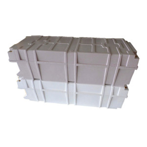 FRP waterproof outdoor junction battery control box/enclosure