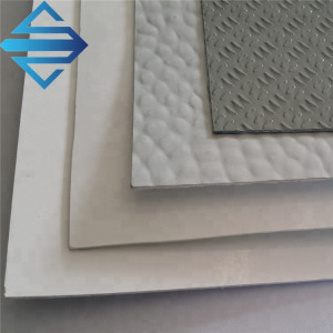 Gel coat fiberglass sheet