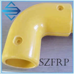 Frp handrail connectors
