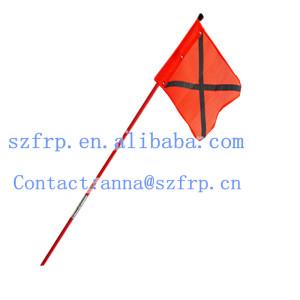 Hand held Fiberglass Flagpole