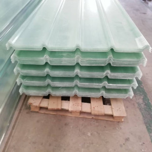 Corrugated Sunlight FRP Roofing Sheet