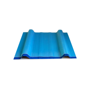 frp fiberglass long span color coated corrugated roofing sheet