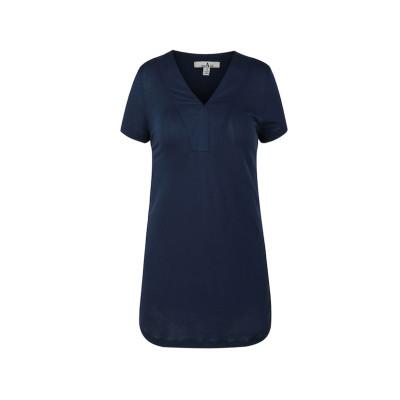 zhAjh Womens Layered V-neck Cap Sleeve Fashion Top