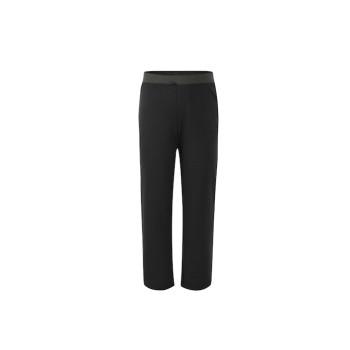 zhAjh Girls 65% Polyester 30% Rayon 5% Spandex Ponte Straight Leg Pant with Elastic Waistband