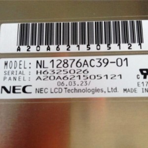 NL12876AC39-01 LCD DISPLAY