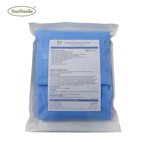Sterilization Surgical Drapes Packs