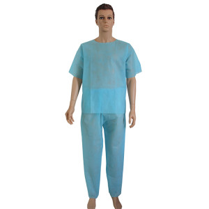 Disposable PP nonwoven scrub suit for doctor