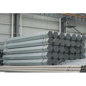 rw Round High Quality Hot Rolled Rigid Galvanized Spiral Steel Pipes