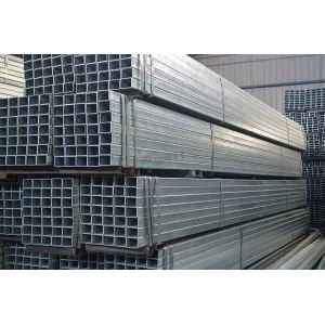 China steel tube factory supply high quality and competitive price glavanized square and rectangular steel pipe