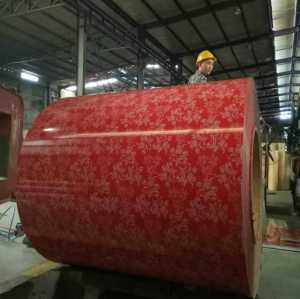 Factory Cold Rolled GI Prepainted Galvanized Steel Coil PPGI