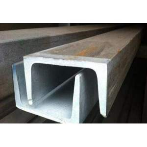 HOT Form UChannel Steel Section Galvanised Steel For Constructionl With SGS Certification