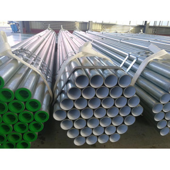 scaffolding pipe/tubes tianjin good quality bs 1387 round gi tube / hot dipped galvanized weld ms carbon steel pipe