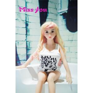 Muñecas Sexuales de Silicona Baratas 100 cm / 3.28 FT Con Pechos Grandes y Pechos Grandes Para La Masturbación Masculina