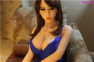 Top Quality Lifelike TPE Adults Sex Doll with Metal Skeleton 165cm/5.41FT