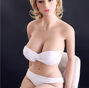 165cm Full size solid sex doll metal skeleton 3 holes for male pleasures.