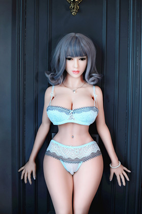 Solid silicone chinese sex doll 138cm/4.52 FT with realistic vagina