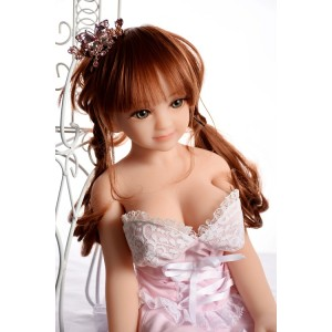 Petite Silicone Mini Real Sex doll 65cm Full Size 3 Entries For Men