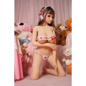 140cm Silicone Sex Doll TPE Material 3 Entries For Men Pleasures
