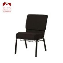Blue Fabric Church Chair CA117