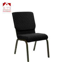 Popular commercial factory price church chair 25*25 tube for sale