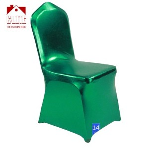 Modern style good quality wedding spandex chair cover for sale