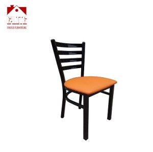 China Wholesale commercial comfortable cafe chairs metal for dining
