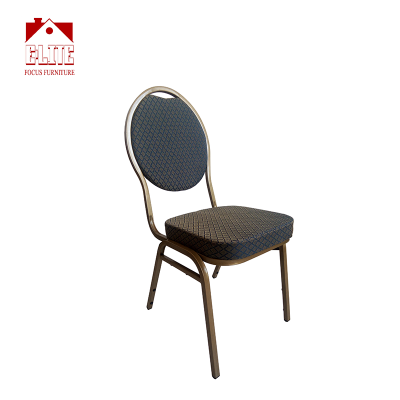 Factory banquet chair Gold powder coating For Wedding